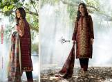 Khaddar Shawl Dress Collection Sabeen Pasha 2016 7