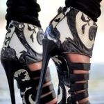 Lace High Heel Shoes To Wear On Parties 8