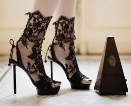 high heel footwear