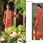 Linen Embroidered Dresses Orient Textile Collection 2016 16