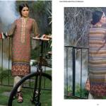 Linen Embroidered Dresses Orient Textile Collection 2016 19