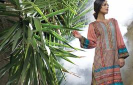 Linen Embroidered Dresses Orient Textile Collection 2016 20