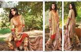 Linen Embroidered Dresses Orient Textile Collection 2016 6