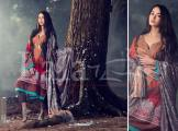Marina Fabric Embroidered Dresses By Lala Textiles 2015-16 3