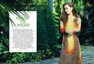 Ready To Wear Silk Embroidered Collection Resham Ghar 2016