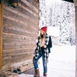 Ski Dressing Ideas Girls Should Adopt 15