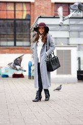 Stylish Winter Long Coats Every Women Should See 6