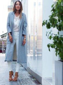 Stylish Winter Long Coats Every Women Should See 9