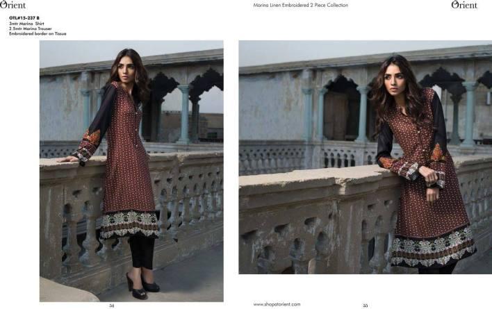Orient winter dress
