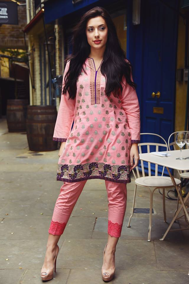 81d36bdef7a1 Two Piece Khaddar Pret Collection Nimsay Winter Wear 2015-16