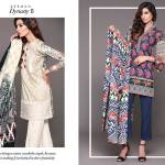 Unstitched Floral Print Dresses By Sapphire 2015-16 12