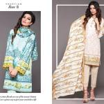 Unstitched Floral Print Dresses By Sapphire 2015-16 8