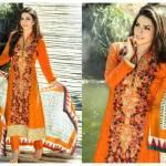 Viscose Shawl Dresses Tawakkal Fabrics Collection 2016 7