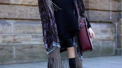 Women Velvet Dresses Winter Casual Street Style Looks