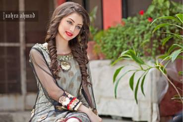 Zahra Ahmed Luxury Essence Collection Party Wear 2015-16 22