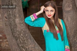Zahra Ahmed Luxury Essence Collection Party Wear 2015-16 28