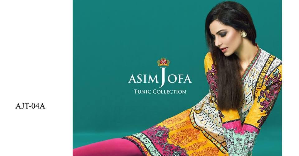 Asim Jofa Summer Tunics Luxury Collection 2016