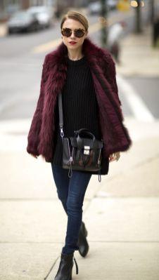 Burgundy coat designs