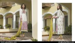 Cambric Embroidered Spring Collection Rujhan Fabrics 2016 21