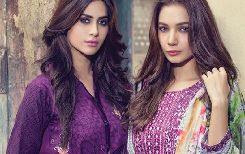 Fancy Embroidered Party Wear Gulaal Collection 2016