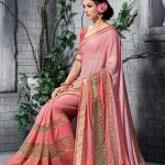 Georgette Silk Saree Collection Natasha Couture 2016