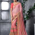 Georgette Silk Saree Collection Natasha Couture 2016 3