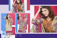 Gloria Khaddar Spring Collection Rashid Textiles 2016