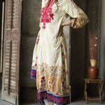 Marina Linen Embroidered Dresses Orient Collection 2016