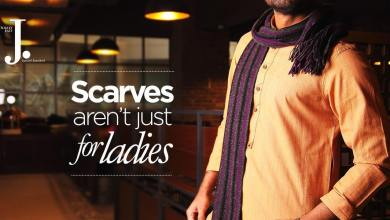 Men Scarves Designs J. Collection 2016
