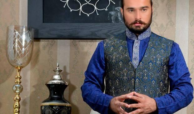 Men spring formal wear