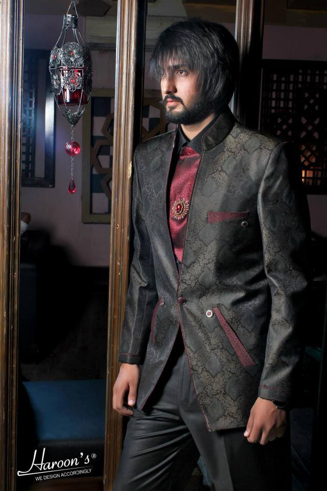 Men Spring Formal Wear Collection Haroon 2016