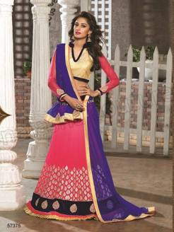 Natasha Couture Party Wear Lehenga Dress Collection 2016 12