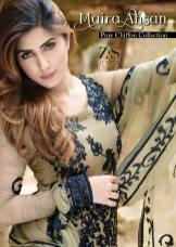 Pure Chiffon Party Wear Dresses ZS Textiles Collection 2016 3
