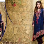 Pure Chiffon Party Wear Dresses ZS Textiles Collection 2016 6