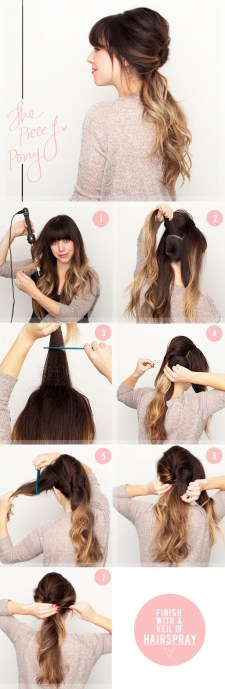 Spring Step By Step Hair Tutorials 6