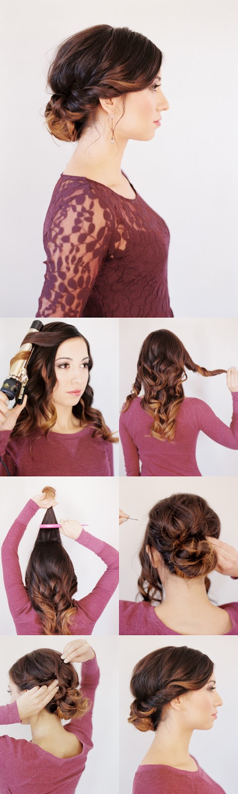 Spring step by step hair tuotrials
