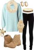 Warm Jumpers Polyvore Combos Women Should Try 2