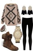 Warm Jumpers Polyvore Combos Women Should Try 4