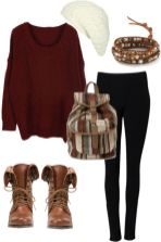 Warm Jumpers Polyvore Combos Women Should Try 7