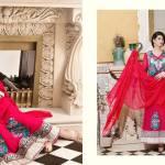 Wijdan Chiffon Spring Collection Salam Textile 2016 6