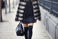 Winter Black Outfit Ideas Casual Street Style Looks