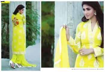 Amna Ismail Semi Stitched Chiffon Spring Collection 2016 10