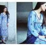 Amna Ismail Semi Stitched Chiffon Spring Collection 2016 11