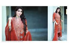 Amna Ismail Semi Stitched Chiffon Spring Collection 2016 14