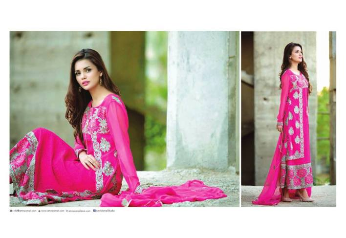 Amna Ismail Semi Stitched spring collection