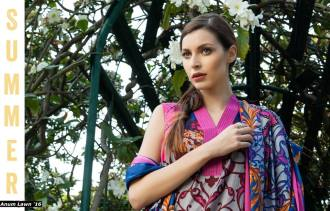 Anum Printed Lawn Dresses Al Zohaib Collection 2016 20