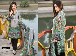 Digital Printed Cotton Silk UnStitched Collection 2016 11