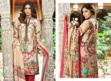 Digital Printed Cotton Silk UnStitched Collection 2016 14