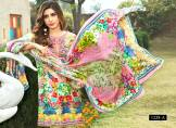 Digital Printed Cotton Silk UnStitched Collection 2016 5