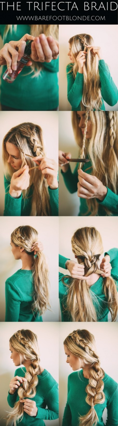 Hair Tutorials For Long Hair In Spring & Summer Season 13